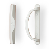 Sliding Door Lockset - White