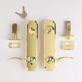 Lockset - Bright Brass | Click to enlarge