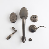 TM Patio Dummy Lockset - Antique Nickel | Click to enlarge