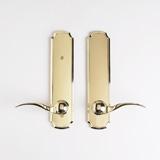 Dummy Lockset - Bright Brass | Click to enlarge