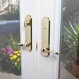 Bright Brass Lockset