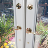 Bright Brass Lockset